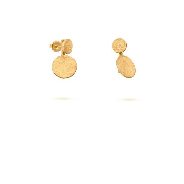 PENDIENTES dorados FLOWERBLOOM