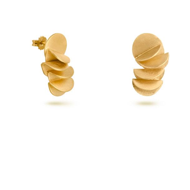 PENDIENTES dorados PLECS