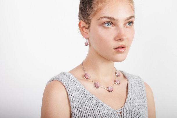 VULCANO silver EARRINGS
