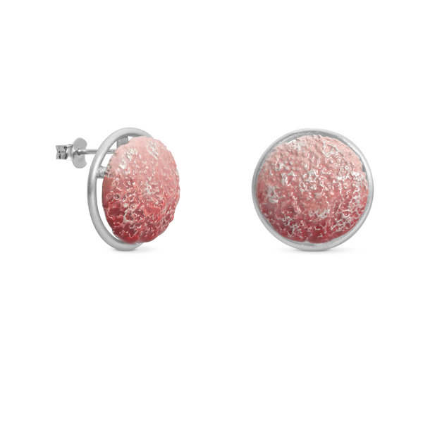 VULCANO silver EARRINGS