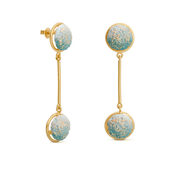 VULCANO golden EARRINGS