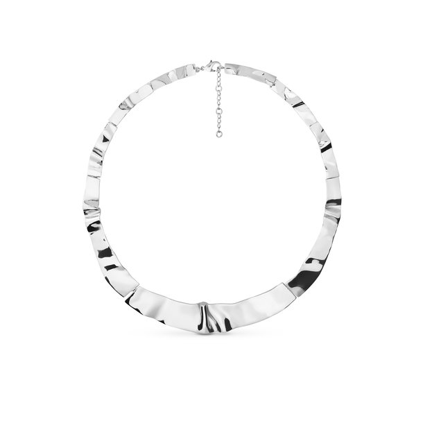 SINUOSA silver NECKLACE
