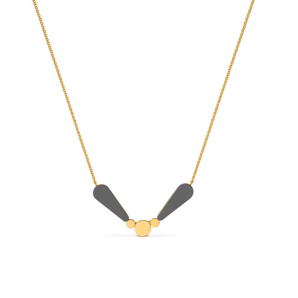 LACRIMA golden NECKLACE