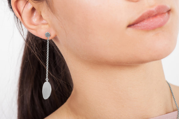 ARP silver EARRINGS