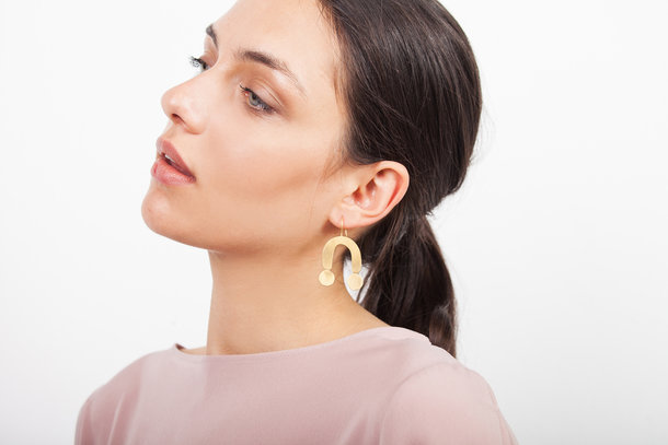 ARP golden EARRINGS