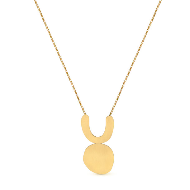 ARP golden NECKLACE