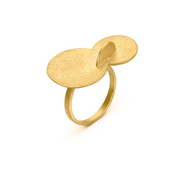 ANILLO dorado SOLEIL