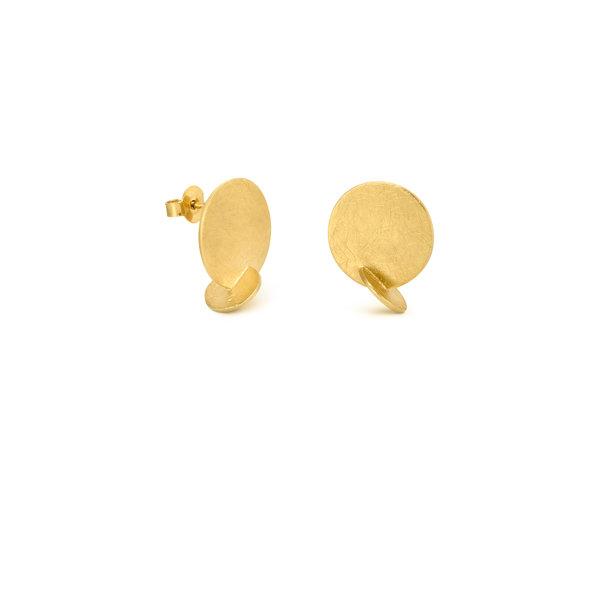 PENDIENTES dorados SOLEIL