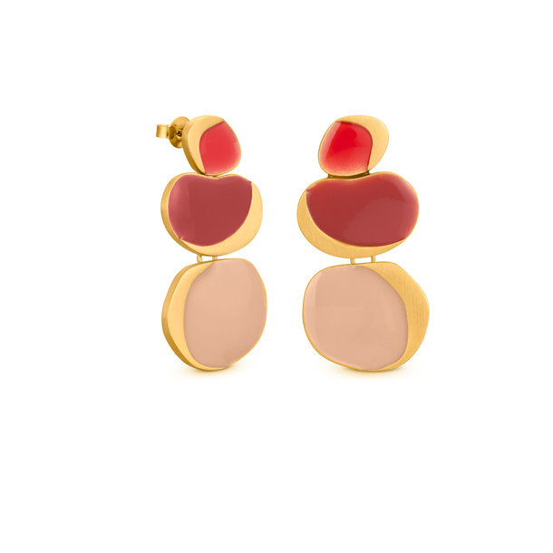 GARDEN SEEDS golden EARRINGS