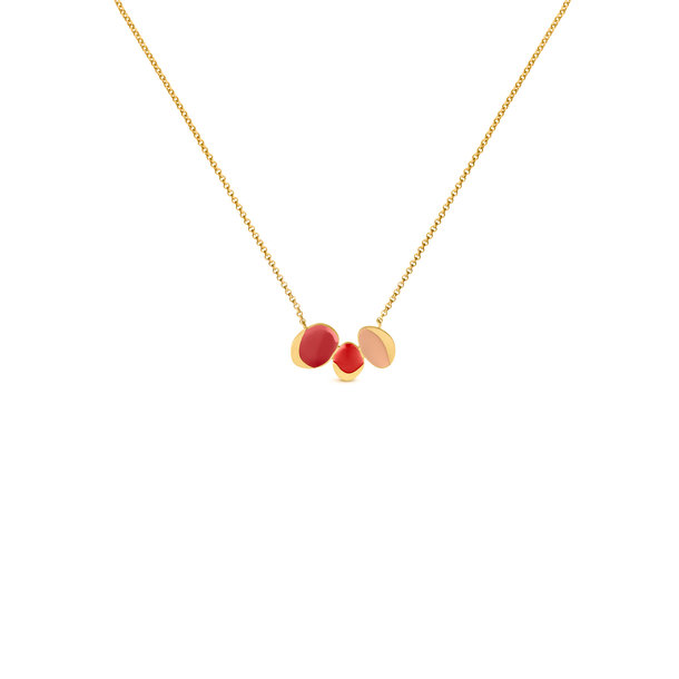 GARDEN SEEDS golden NECKLACE